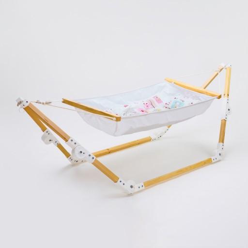 گهواره سنتی نوزاد مدل لاوین- باسلام