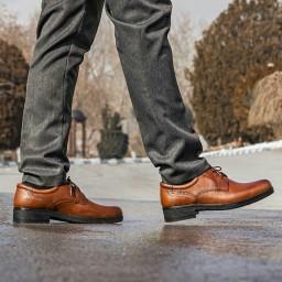 کفش مدل t24 تمام چرم اصل گاوی رسمی و مجلسی مردانه با ارسال رایگان