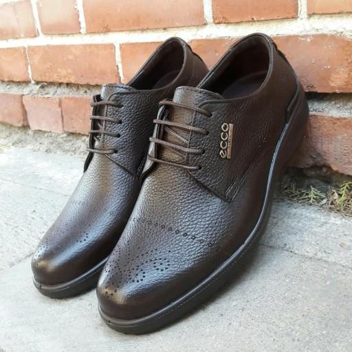 کفش تمام چرم اصل طبیعی مدل 205 مجلسی و راحتی و  طبی روزمره مردانه ارسال رایگان- باسلام