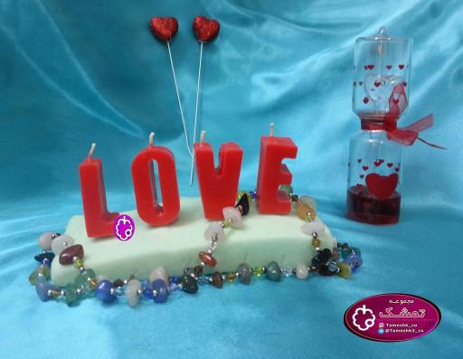 شمع LOVE- باسلام