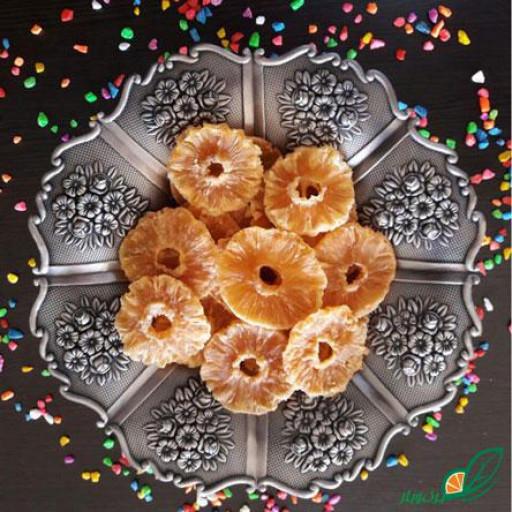 میوه خشک -آناناس کمپوتی(بسته 100 گرمی) - باسلام
