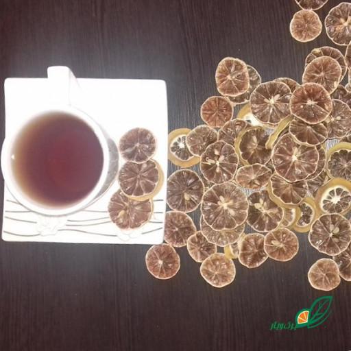 لیمو خشک اسلایس (بسته 100 گرمی) - باسلام