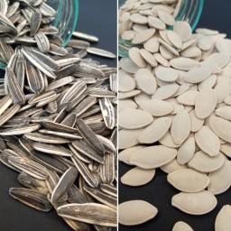 پک تخمه آفتابگردان و تخمه کدو درجه 1 محصولات مولانا