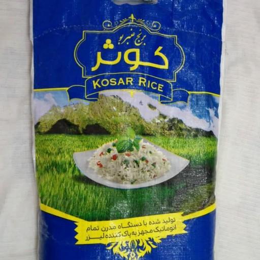 برنج عنبر خوزستان ده کیلویی/کارون- باسلام