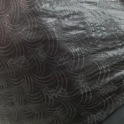 پارچه چادری خاویار گلدار زری کوب کره ای