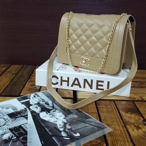 کیف زنانه دوشی مدل شنل چهارخانه سایز متوسط در رنگهای مختلف- باسلام