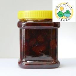 مربای توت فرنگی ممتاز بروجرد بدون هرگونه مواد نگهدارنده (500 گرمی)