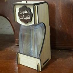 جعبه چوبی زعفران