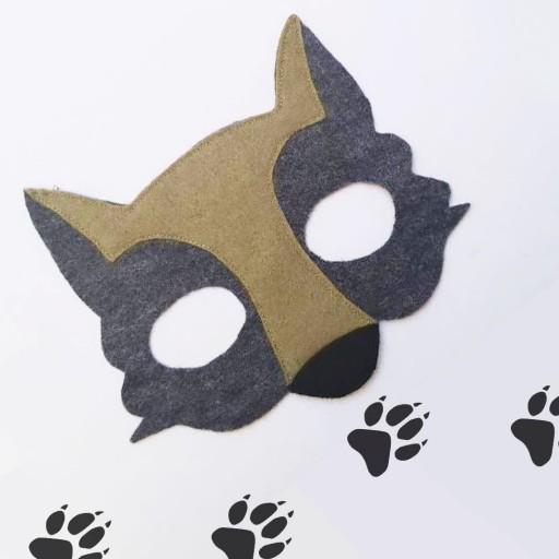 ماسک صورت گرگ- باسلام