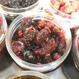 ترشک هفت میوه لوکس درجه یک بسته (600 گرمی)