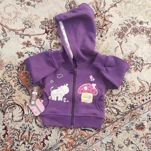 سوییشرت  نوزادی دخترانه سایز 30- باسلام