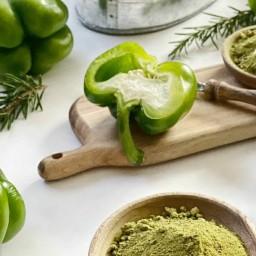 پودر فلفل دلمه سبز 100 گرمی آسا