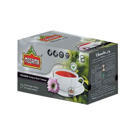 چای کیسه ای عطری مسما - بسته 25 عددی- باسلام