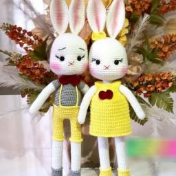 خرگوش دختر و پسر