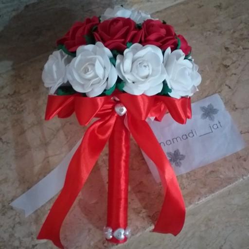 دسته گل عروس- باسلام