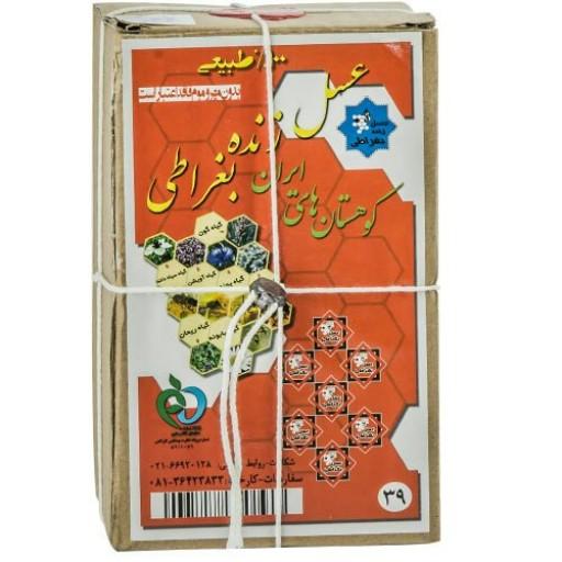 عسل 7ستاره حکیم روازاده (یک کیلوگرم) - باسلام