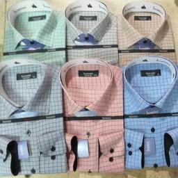 پیراهن های مردانه حریر یزد با کیفیت بالا رنگ ثابت چهار خانه