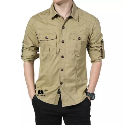 پیراهن آستین بلند مارک جیپ اورجینال- باسلام