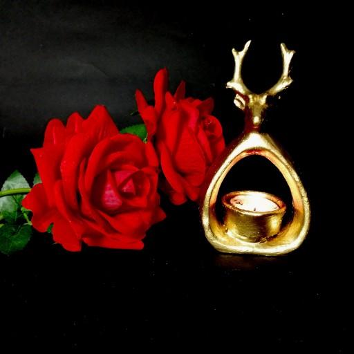جای شمعی مدل گوزن جذاب ویتراهنر_آفتاب- باسلام