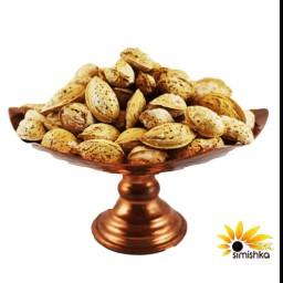 بادام پوست کاغذی(منقا)شور ایرانی ممتاز 500 گرمی سیمیشکا