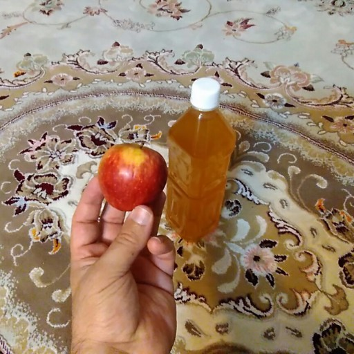 2 عدد سرکه سیب خمری یک ساله طبیعی و ارگانیک- باسلام