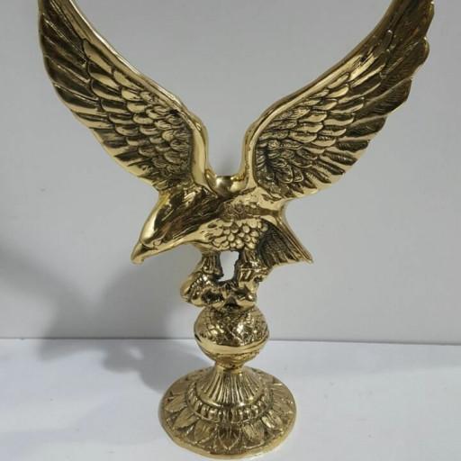 مجسمه عقاب برنزی- باسلام