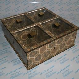 جعبه آجیل و شکلات چهاردر یک