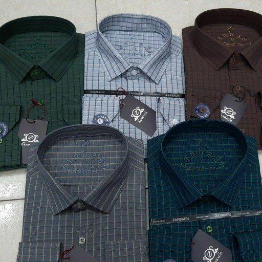 پیراهن مردانه کد327 سایز مدیوم- باسلام