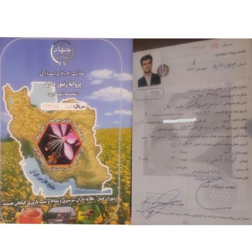 عسل ارگانیک الوک و مریم نخودی- باسلام