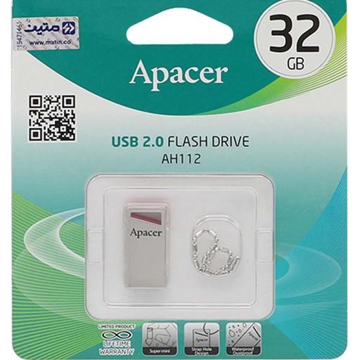 فلش مموری 32GB Apacer AH112 USB2.0 Flash Memory-32GB- باسلام