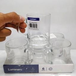 لیوان دسته دار محک لومینارک 6 عددی