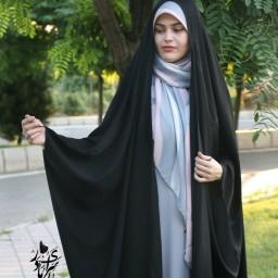چادر عربی اصیل مدل جده کرپ