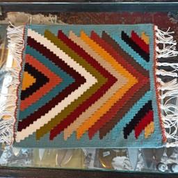 گلیم دستباف کوچک