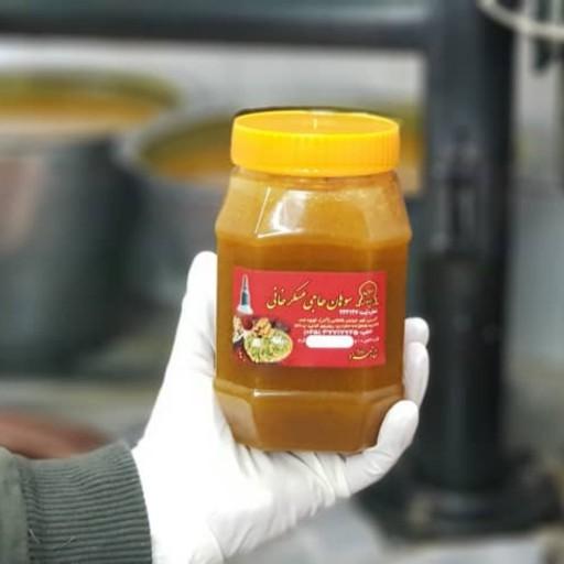 (سوهانتو خودت بپز) مایع سوهان 800گرمی روغن حیوانی مناسب برای 12 نفر- باسلام