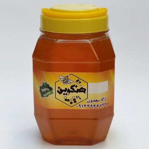 عسل 100٪طبیعی چندگیاه کوهستانی ،تضمینی(مستقیم از زنبوردار)1کیلو- باسلام
