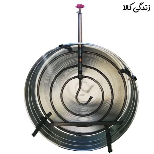 ساج گازی پخت نان مدل عراقی سایز 60- باسلام