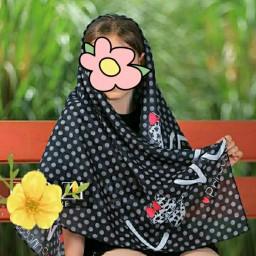 روسری نخی دخترانه درجه یک کد 8