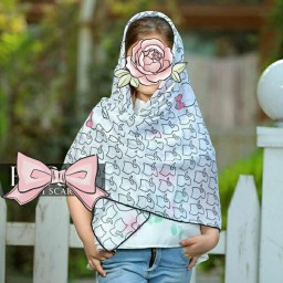 روسری نخی دخترانه درجه یک کد 27