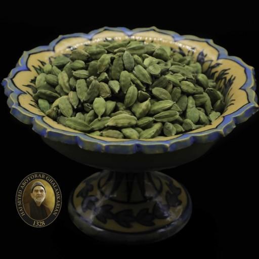 هل سبز اکبر بنفش  50 گرمی حاج ابوتراب- باسلام