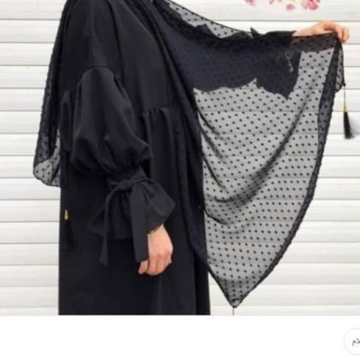 شال اشکی منگوله دار مزونی- باسلام