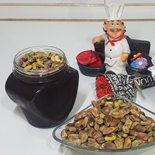 شکلات صبحانه گردویی خانگی با مغز پسته (400گرم)- باسلام
