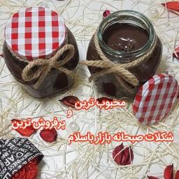 شکلات صبحانه فندقی خانگی،بسیار خوشمزه و مقوی(400گرم)
