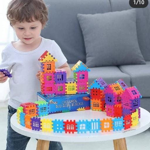 بلوک خانه سازی مربعی شکل فکری- باسلام