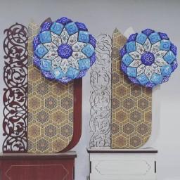 تندیس گل میناکاری