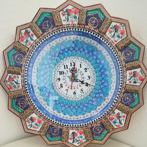 ساعت میناکاری وخاتم- باسلام