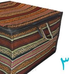 کاور پتو جاجیم بافی سایز8 باکس رختخواب ساک باربندخودرو