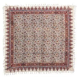 سفره قلمکار سنتی اصفهان سایز 100 در 100 سانتی متر مربع
