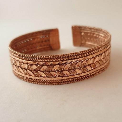 دستبند و انگشتر مسی سفارشی- باسلام