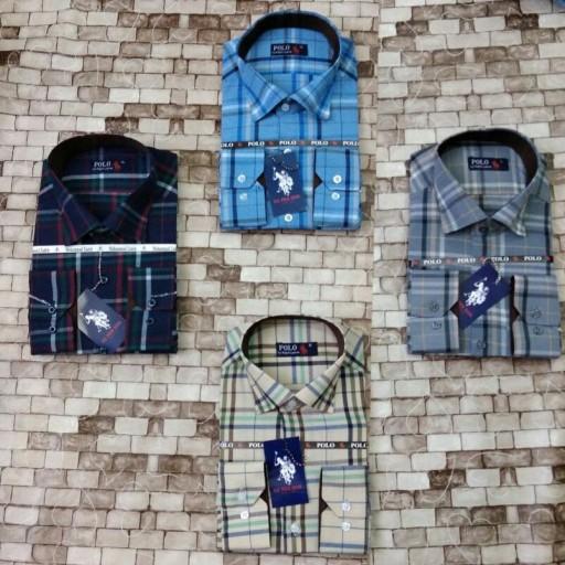پیراهن مردانه طرح دار- باسلام