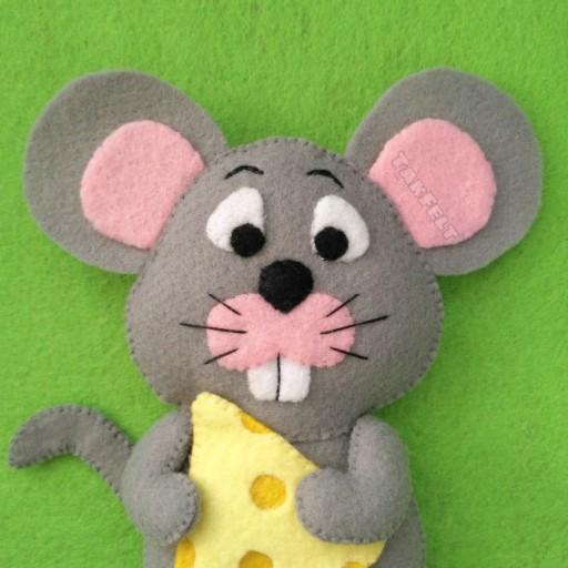 عروسک دستدوز موش موشی - باسلام